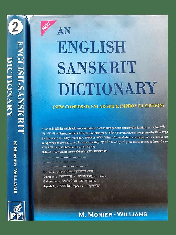 ENGLISH SANSKRIT DICTIONARY (set of 2 Vol.)