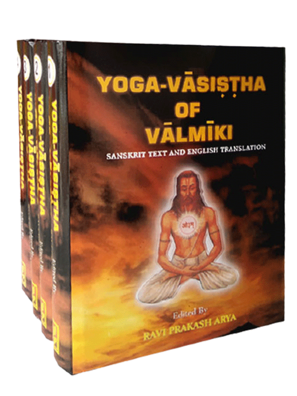 Yoga-Vaasistha Of Valmiki (4 Volumes)