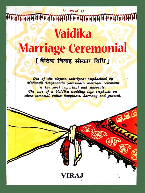 Vaidika Marriage Ceremonial